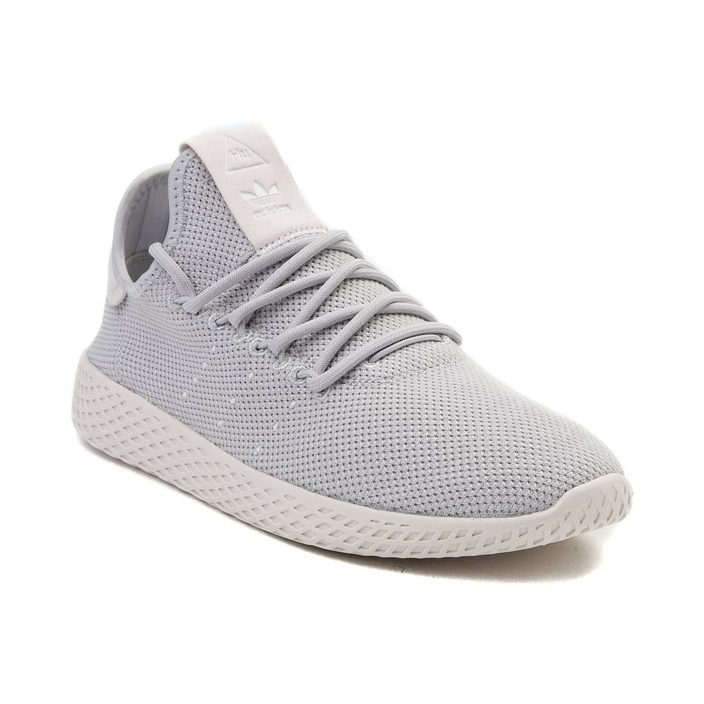 df8a32360 Womens adidas Pharrell Williams Tennis Hu Athletic Shoe - Light Gray Chalk  - 436507