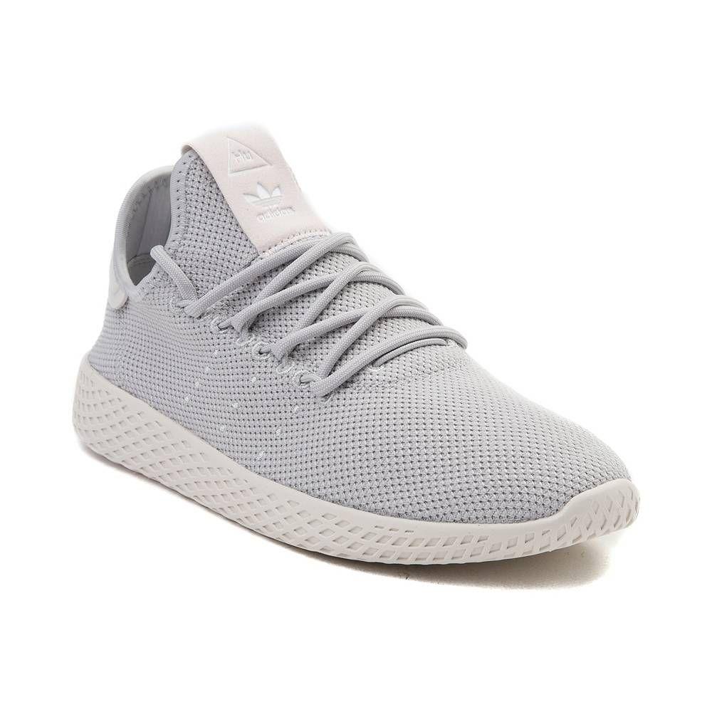 Womens Adidas Pharrell Williams Tennis Hu Athletic Shoe Light Gray Chalk 436507 Addidas Shoes Women Grey Tennis Shoes Grey Adidas Shoes