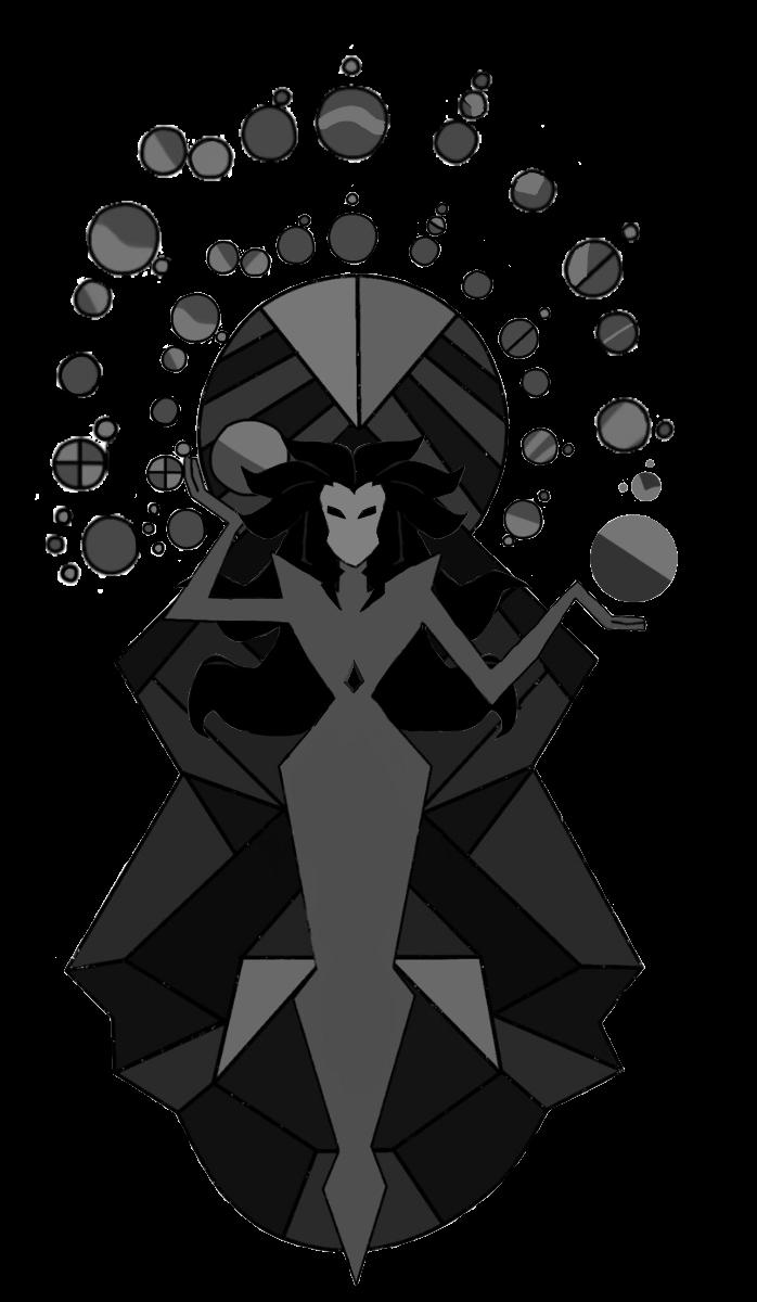 Black Diamond Mural Edit Will Be Updated Steven Universe Steven Universe Diamond White Diamond Steven Universe Steven Universe Gem