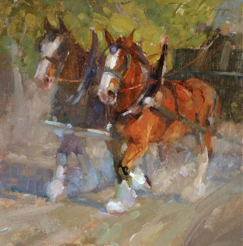 Kyle paliotto caballos pinterest caballos pinturas for Pinturas para el hogar