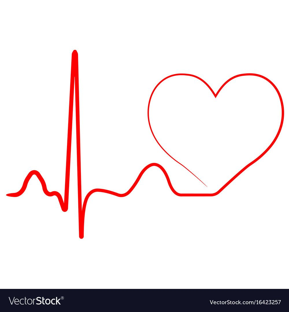 Hospital Heart Logo With Pulse Heart Beat Icon Vector Concept Of Healthy Lifestyle Sport And Fitness Download Heart Logo In A Heartbeat Nurses Week Quotes