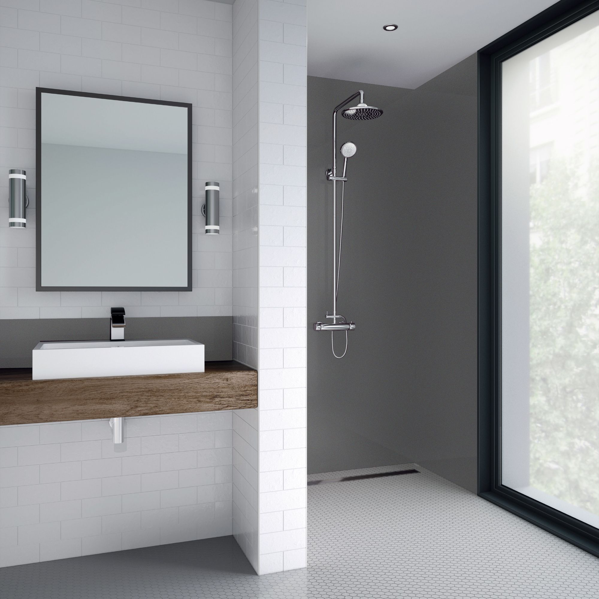 Pin By Joe Mcshane On Bathroom Ideas In 2020 Shower Panels Shower Wall Kits Shower