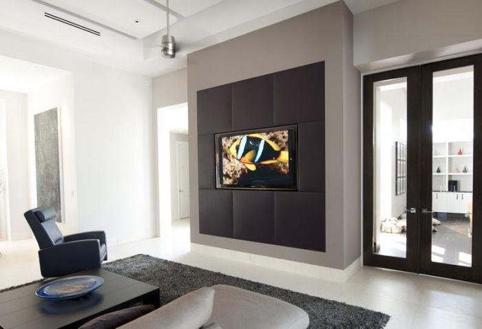 Fernsehsessel im Wohnzimmer u2013 ein vielseitiges Relaxmöbel LCD - fernsehwand ideen moebel wohnzimmer