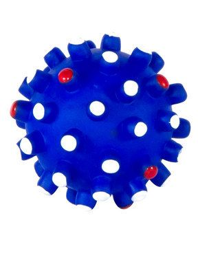 Watch the faun with one of the safest toys that can be given to dogs! Prickly Ball. $1.49 #pets