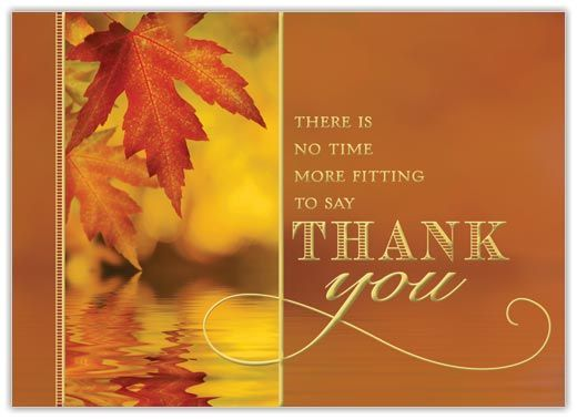 Thanksgiving Appreciation Card - Thanksgiving Cards from CardsDirect