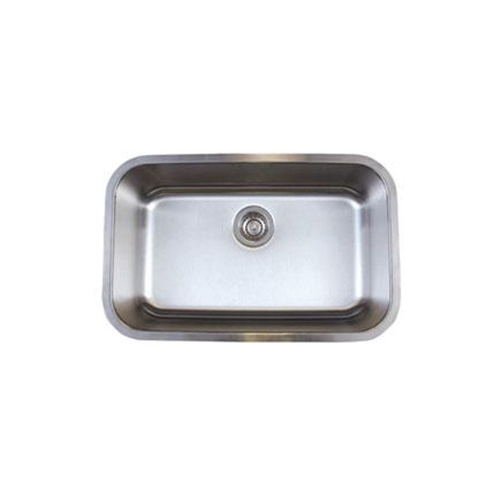blanco bl441024 stellar super single bowl undermount sink, refined