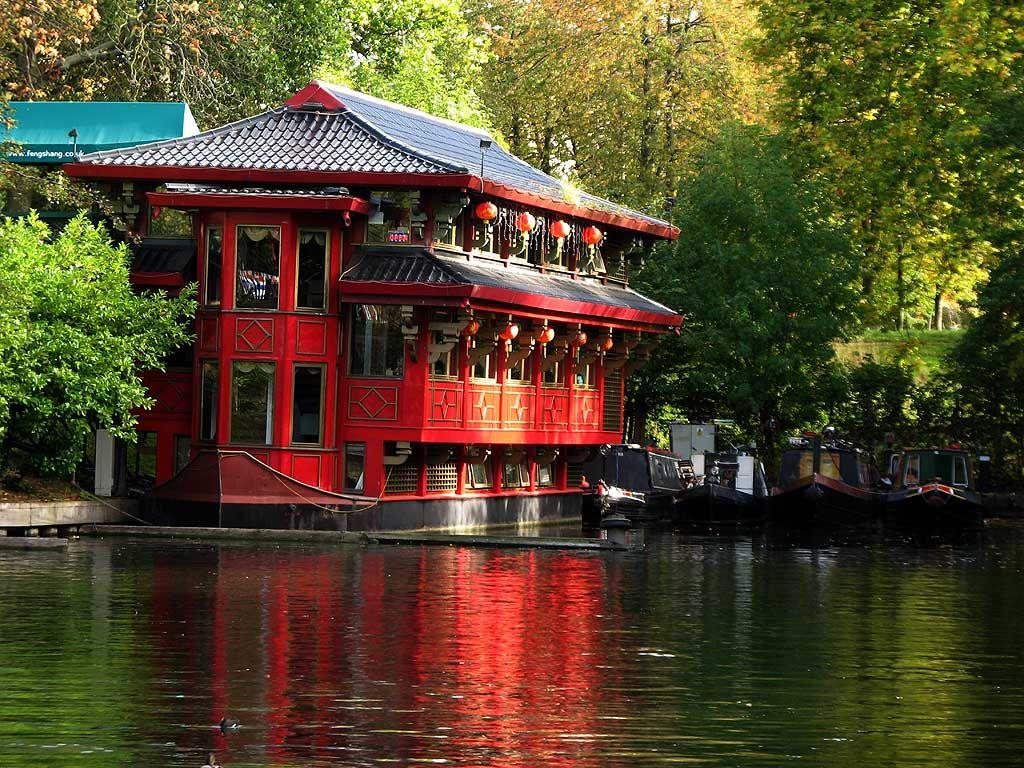 Feng Shang Princess Floating Restaurant Cumberland Basin Regent S Canal London Floating Restaurant Mayfair London Regents Canal