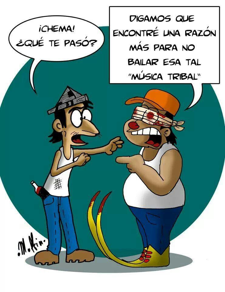Esos tribaleros!!!! Lol!!