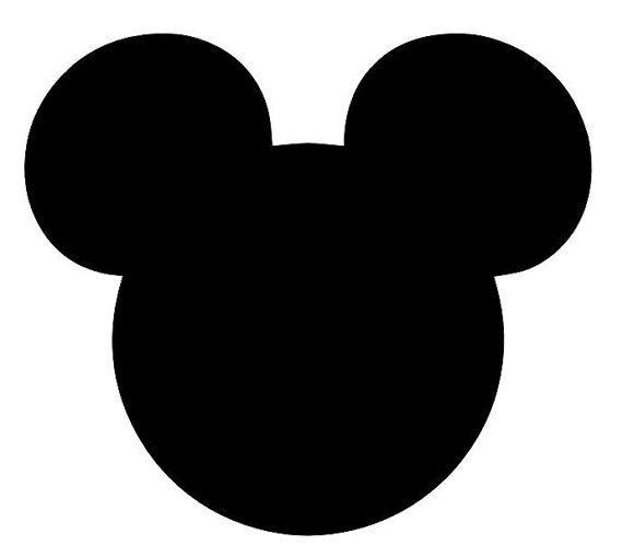 Items Similar To Mickey Mouse Silhouette Head Vinyl Decal Your Color Choice On Etsy Mickey Mouse Silhouette Mickey Silhouette Disney Silhouette