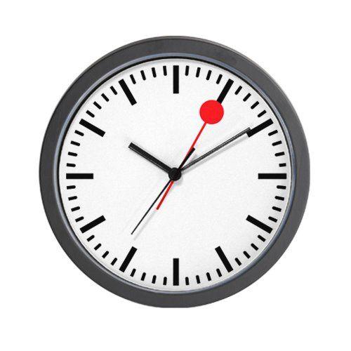 Five Top Swiss Railway Clocks Not Made By Mondaine Train Station Clocks Headquarters Swiss Railway Clock Train Station Clock Clock