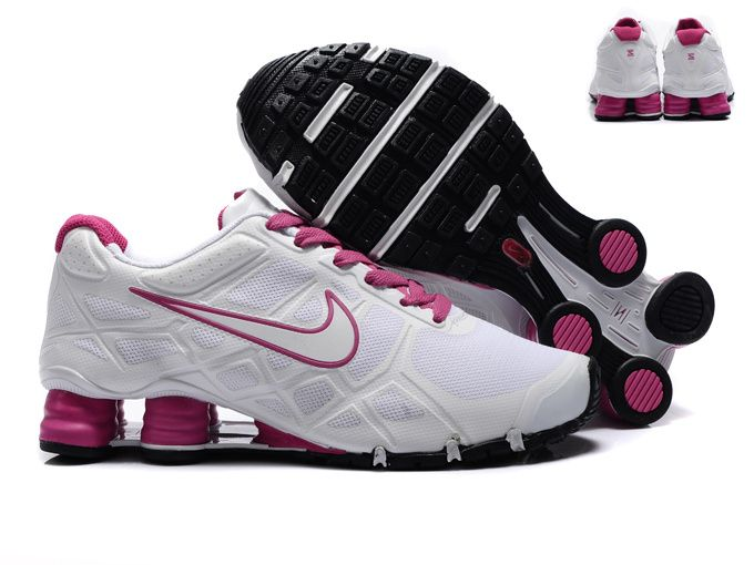 Nike Shox 2012 Turbo 12 Women White-Pink Nike Shox Turbo 12 running shoe  utilize c803e6509