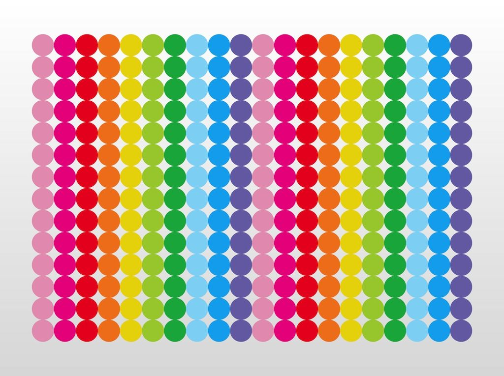 rainbow polka dot wallpaper home decor ideas home