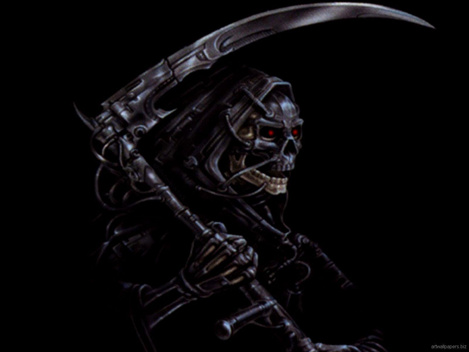 Download 3D Skull Wallpaper Wide 1w2 O NgepLuk