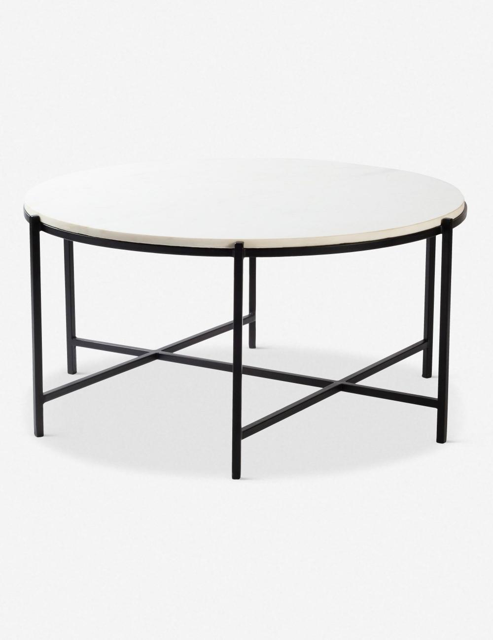 Berdina Round Coffee Table Coffee Table White Coffee Table Round Coffee Table [ 1300 x 1000 Pixel ]