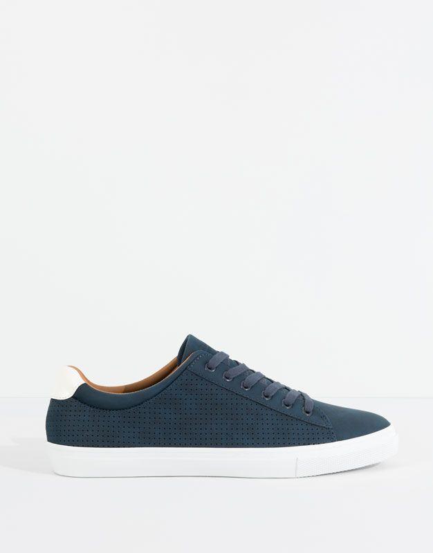 zapatillas nike hombres clasicas azul marino