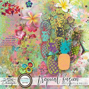 Tropical Fusion {Artsy Bits & Pieces}