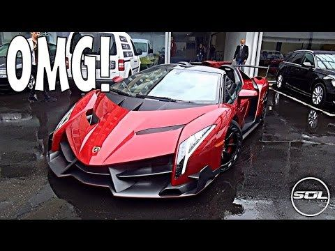 Million Lamborghini Veneno Roadster Spaceship Supercar