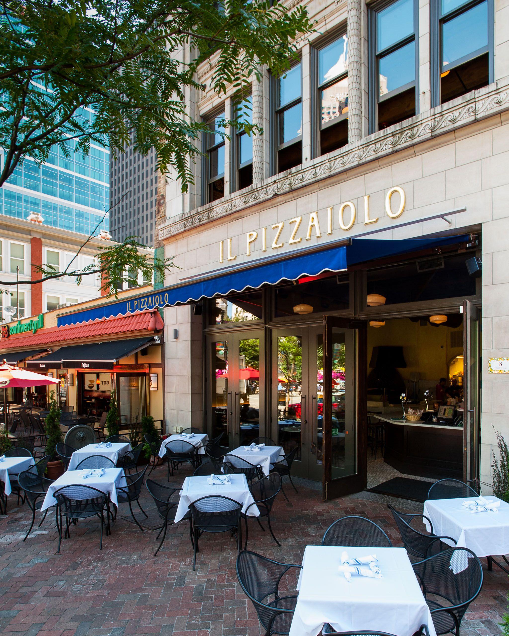 Restaurant Il Pizzaiolo Located In Downtown Pittsburgh Market Square Restaurantdesign