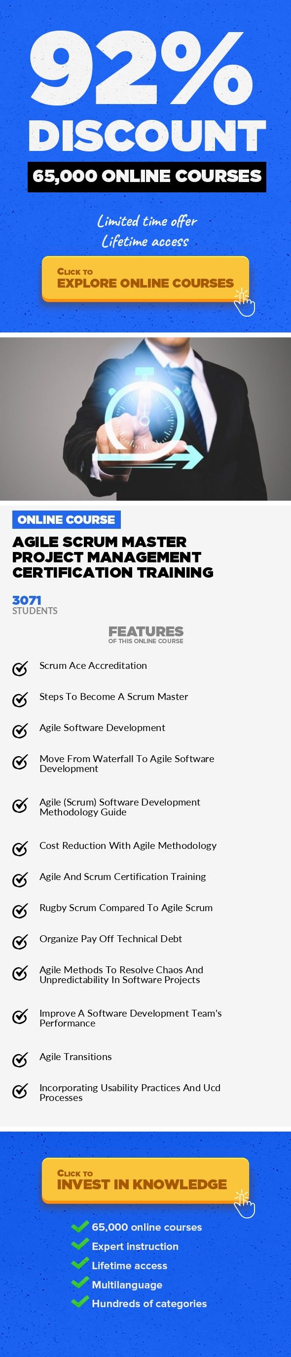 Agile Scrum Master Project Management Certification Training Project