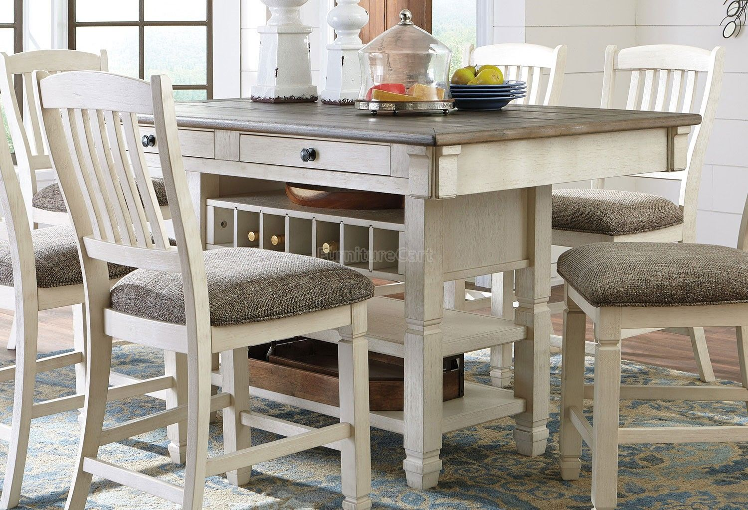 Bolanburg counter height dining table counter height