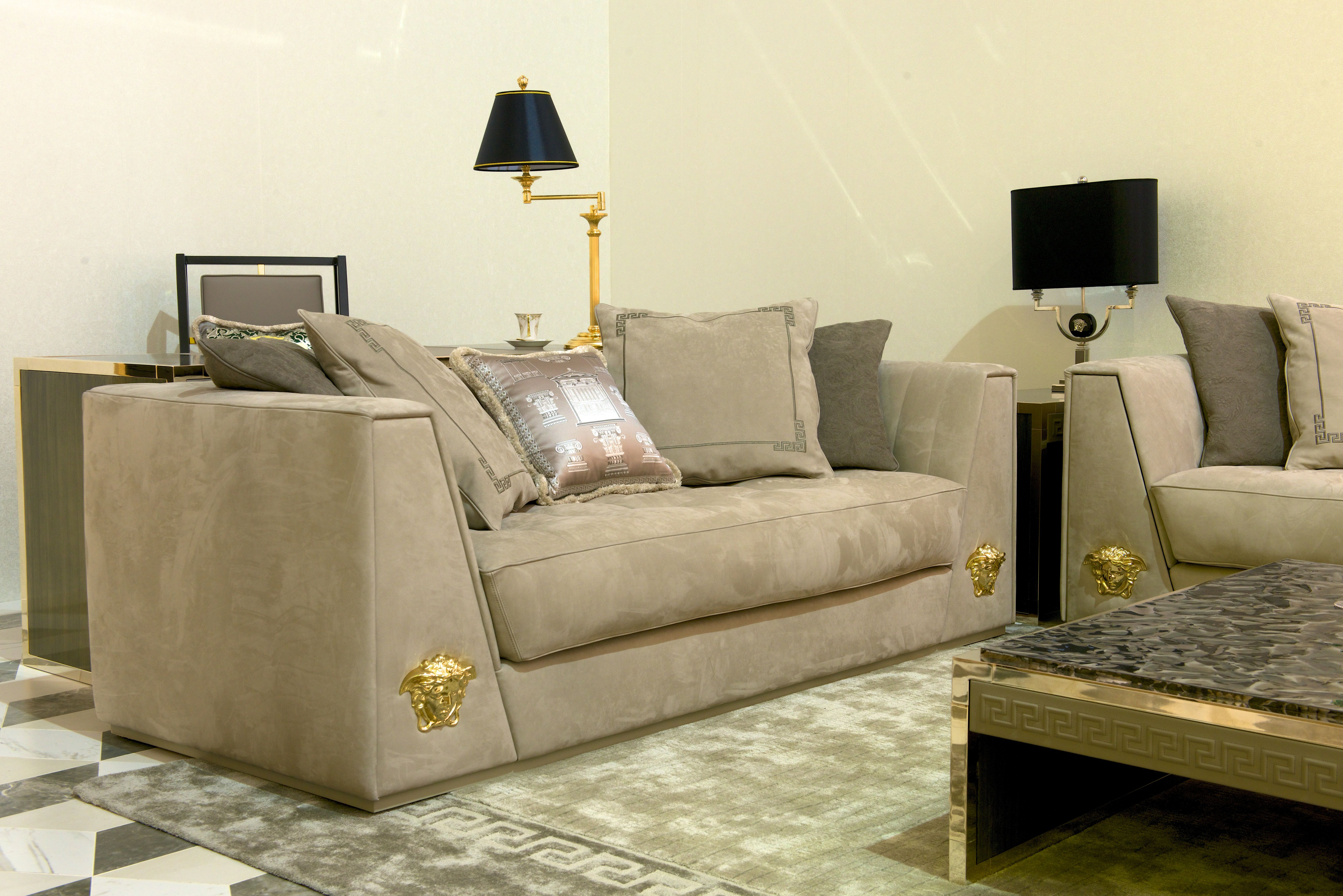 Mobili Versace ~ The new luxury via gesù sofa versacehome versace home