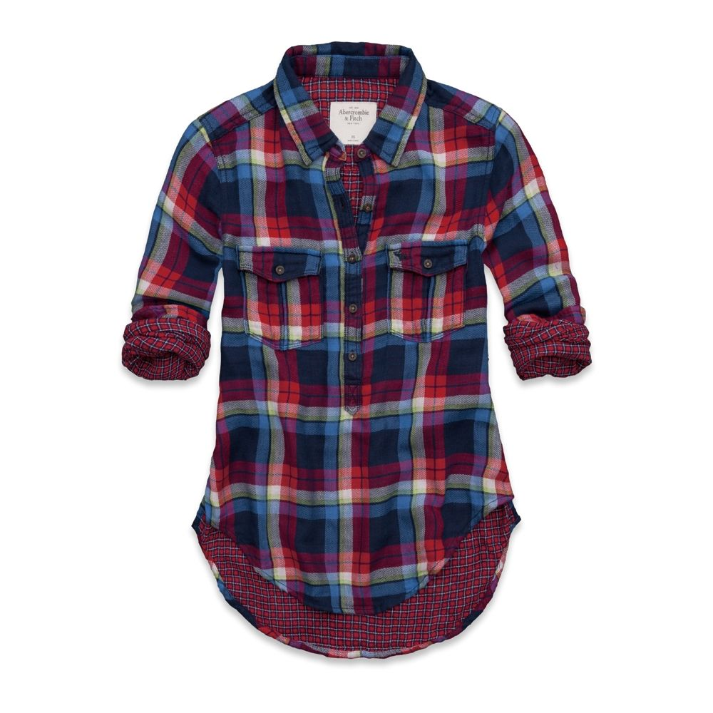 Flannel outfits for women  Gemma Popover Shirt  everyday style  Pinterest  American clothing
