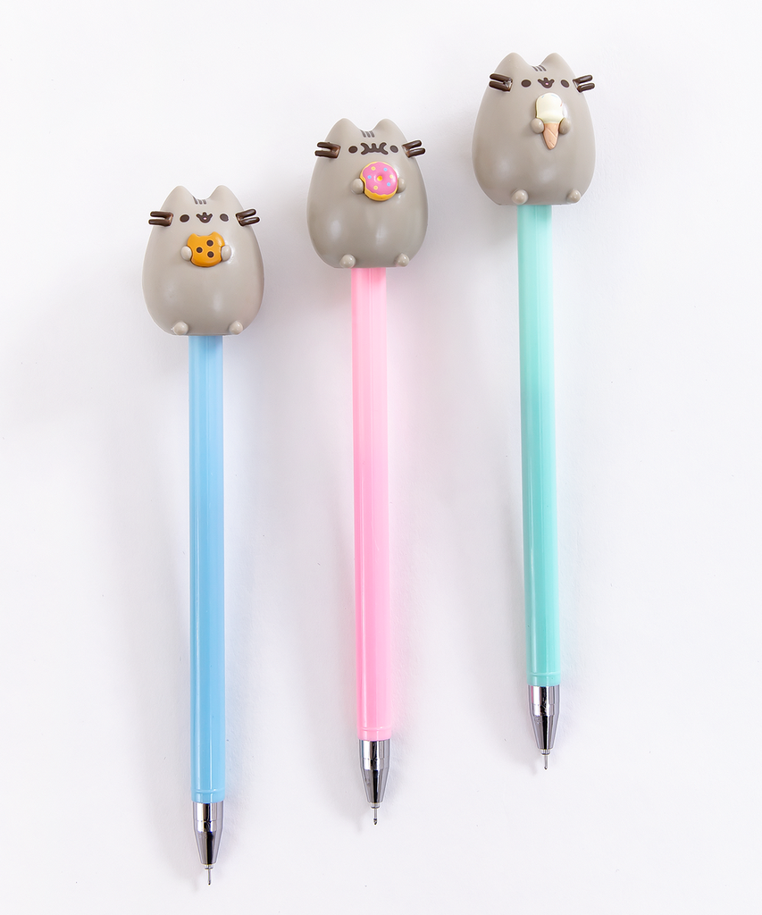 Lovely 1 PCS Pens Black Ink Lollipop Ballpoint Pens Kids School Supplies HOT