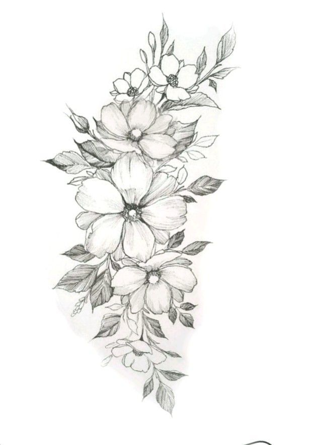 Tattoos Blumen Tattoo Vorlage Blumen Tattoos Blumen Tattoo