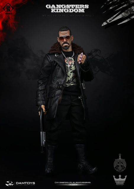 "toyhaven: Incoming: DAM TOYS (GK005#) Gangsters Kingdom 1/6 scale Diamond 2 ""Alger"" 12"" figure"