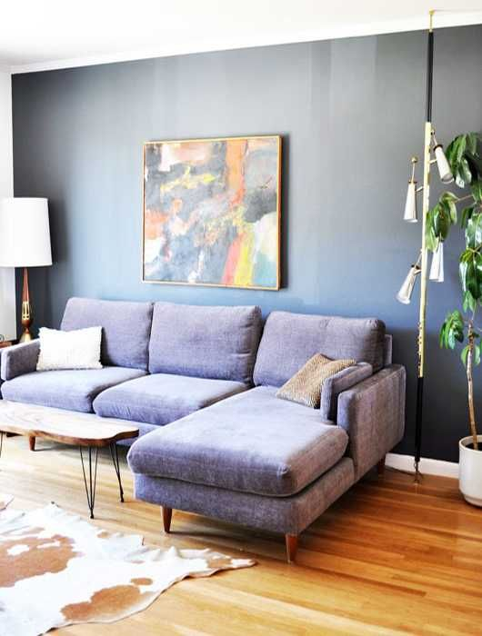 couch livings ideas sofa room modern living purple