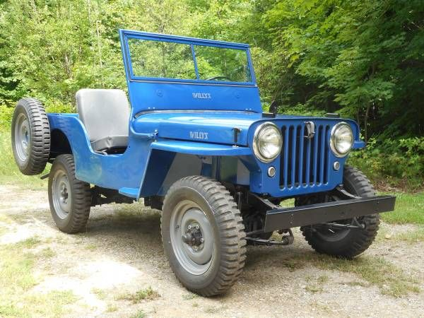 1946 Cj2a Newberry Mi0 Willys Willys Jeep