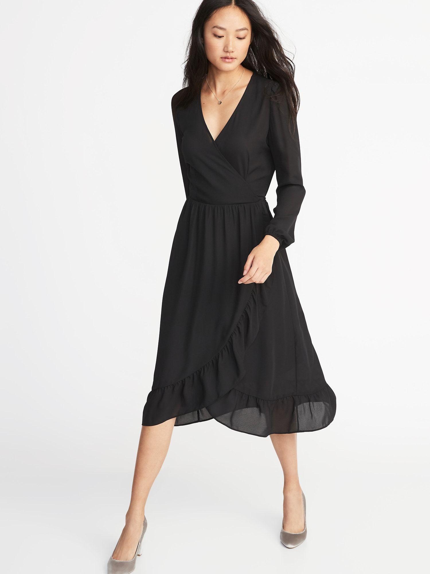 Product Photo Dresses Georgette Dress Wrap Dress Outfit [ 2000 x 1500 Pixel ]