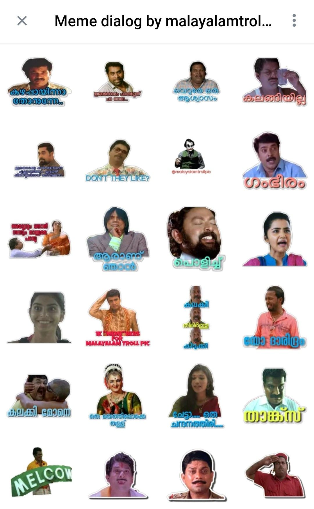 Stickers Whatsapp Memes Download