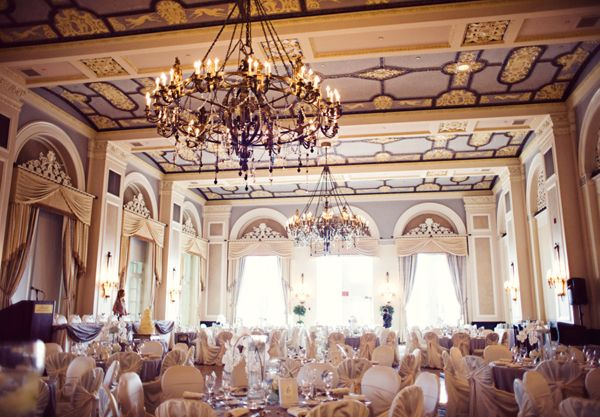 Wedding Ideas - Fairmont Hotel McDonald Edmonton Wedding BallRoom