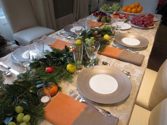 Christmas Table By Ina Garten Christmas Dining Decor Holiday Table Settings Christmas Table Decorations