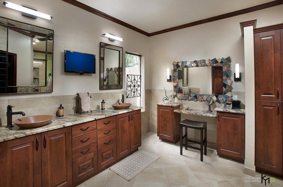 Bad Im Mediterranen Stil Dekoration Stile Bathroom