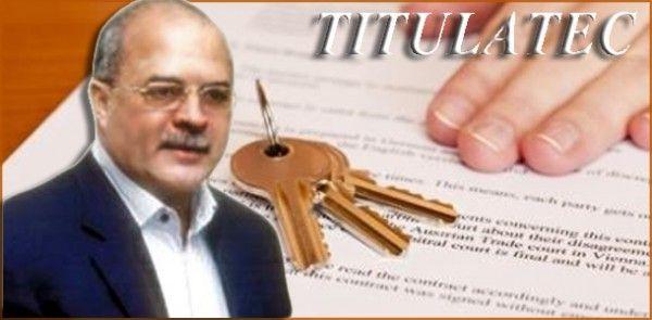 Actividad novedosal: TITULATEC auspiciada primera Feria Titulación de Terrenos