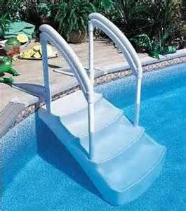 Festiva Or Wedding Cake Ii Drop In Steps Purchased Separately 369 Pool Steps Above Ground Pool Steps Swimming Pool Ladders