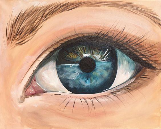 картинка глаза человека рисовать расположен уникальный