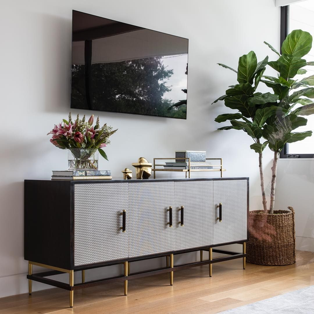 High Fashion Home On Instagram If You Re Gonna Have A Tv In The
