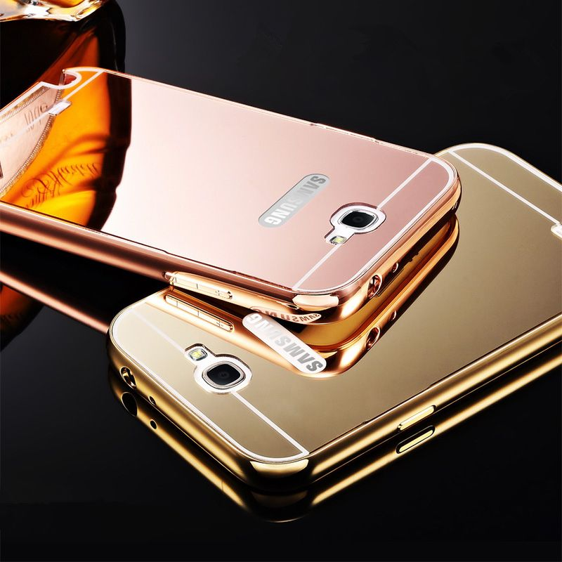 sports shoes d1cd8 ec2e7 Note2 Luxury Aluminum Frame + Mirror Acrylic Back Cover Mirror ...