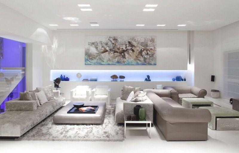 Lampen Wohnzimmer Modern amazon wohnzimmerlampe modern ...