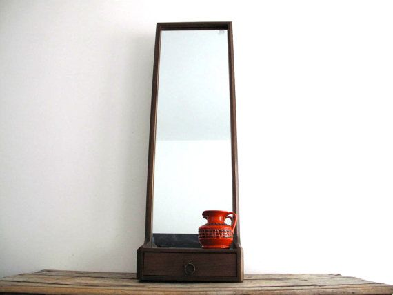 Wall Full Length Mirror vintage full length mirror - large wall mirrors - mid century