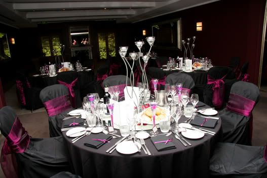 Stunning Black And Purple Table Settings Images - Best Image Engine ...