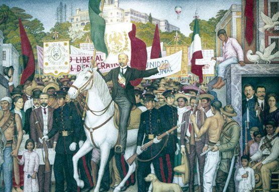 Francisco I. Madero, el opositor que realizó una campaña Política para enfrentar a Porfirio Díaz en las elecciones de 1910.