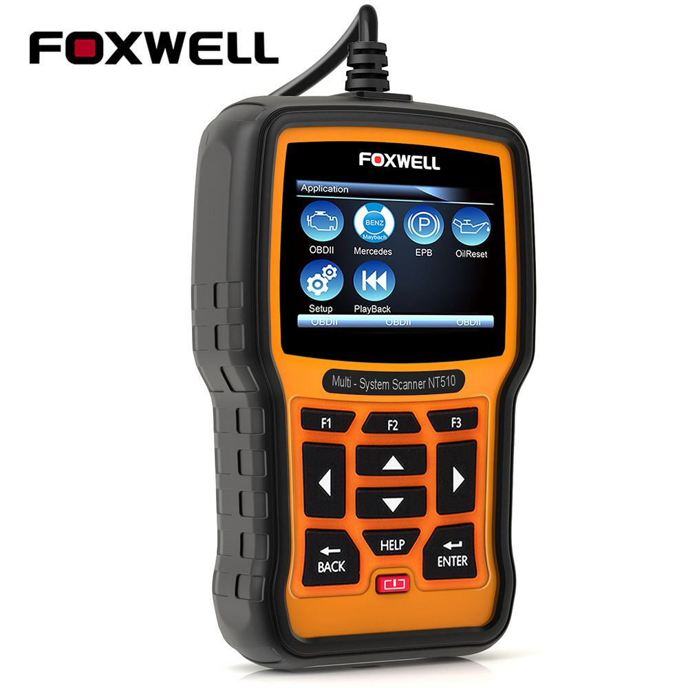 Foxwell nt510 pro obd2 diagnostic tool for bmw benz