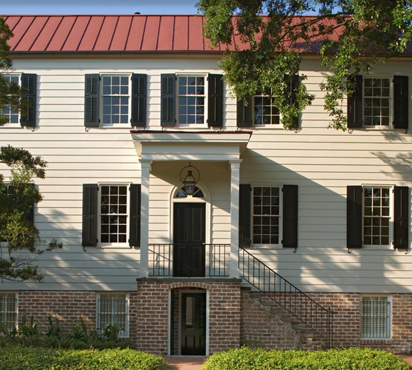 Julian Street, Built In 1826 In Savannah, GA.