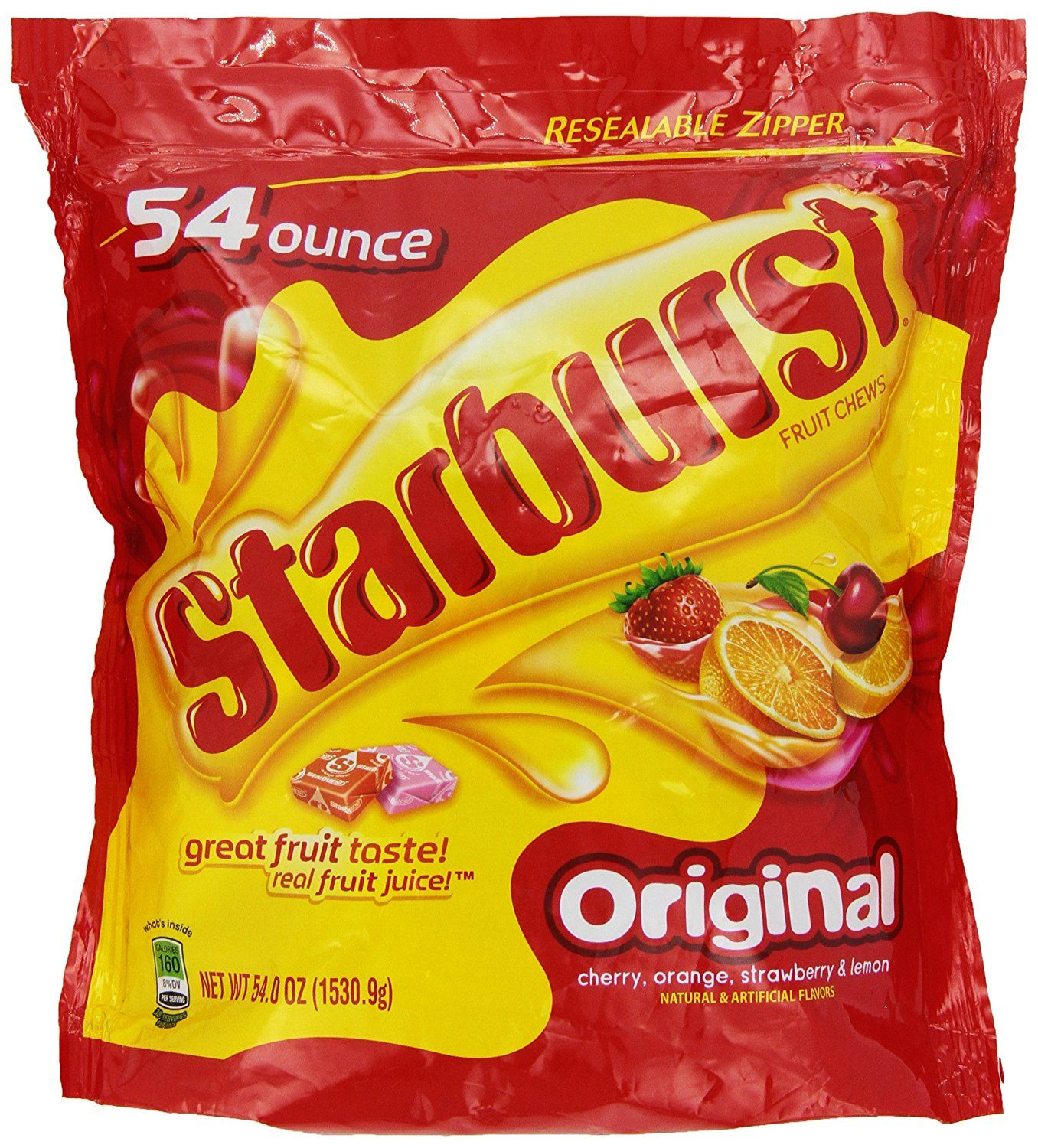 Starburst Original Big Bag 54 oz  *** Trust me, this is