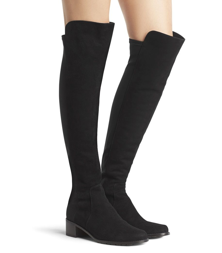 Stuart Weitzman Reserve Suede Over-the-Knee Boot (Women's) M6Vvp23U