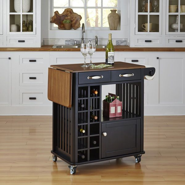 Kitchen Cart With Wine Rack Rolling Mobile Kitchen Island Storage Serving Cart Mobile Kitchen Island Kitchen Island Storage Kitchen Cart Kitchen cart with wine rack
